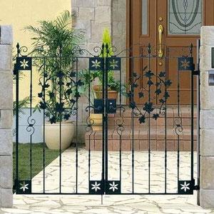 アルミ鋳物製門扉