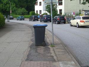 Niendorfer Straße in Lokstedt