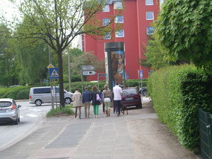 Fußgänger im Oddernskamp