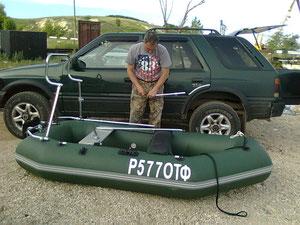 Готовим лодку