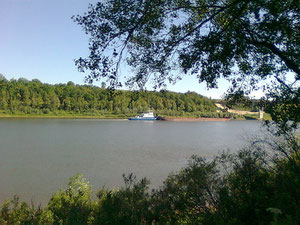 река Белая всё ещё судаходна