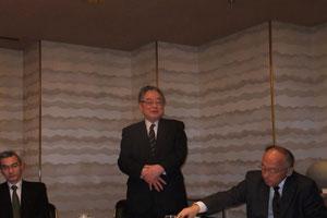 渡邊在スウェーデン日本国大使との懇談会