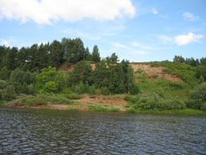 Высокий берег у д. Шилиха