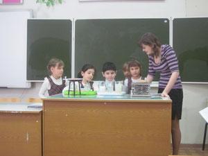 Экскурсия в кабинет химии