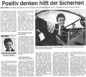 Artikel aus NRZ von Mai 2003