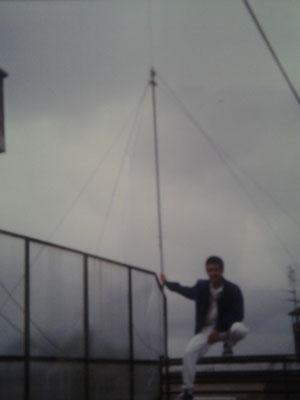 Antenna GPA 27 sito - anno 1987