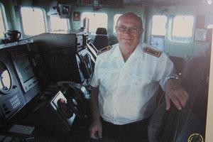 Auf dem Steuerstuhl der Fregatte Mecklenburg-Vorpommern 2006