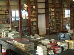 Vue de la bibliothèque