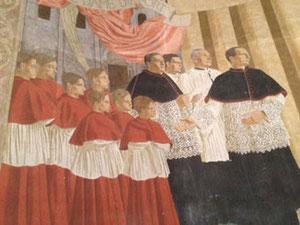 Fresque de Dussour (détail)