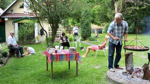 Plenerowe ognisko - 2009 r. (Fot. Basia Jachimowicz)