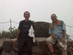 平成22年8月15日 大山山頂