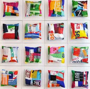 Kleine Ewigkeit - je 20x20 Plastikfolie/Leinwand