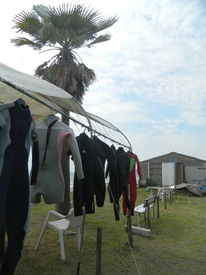 wetsuit washing!!