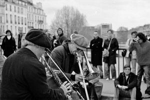 Musiciens Américain à Paris.