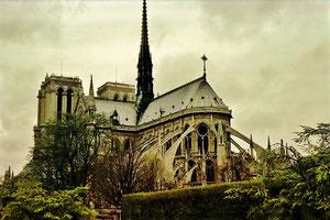 Notre Dame à Paris.
