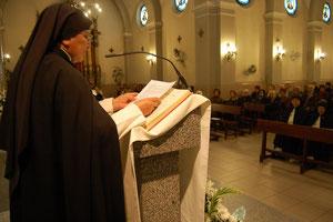 Madre Gloria Isabel Huérfano Pérez