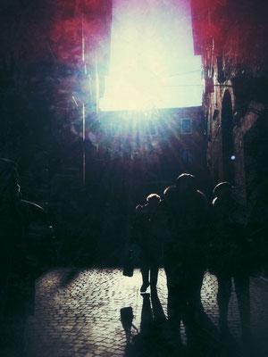 今年の新年は、ウルビーノという街で過ごしました。