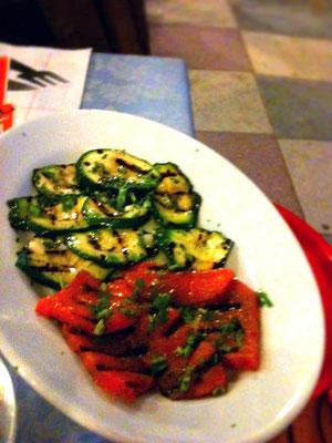 野菜はみんな自家製。