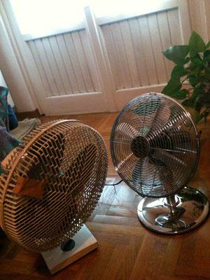 扇風機の対話w