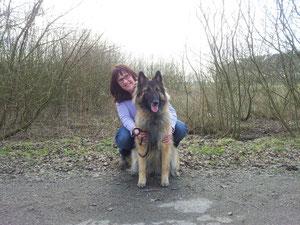 Gwenda-Joy und ich, März 2013