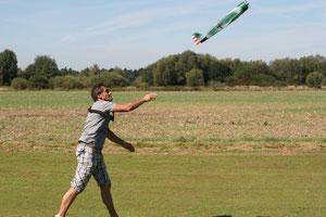 Start für einen flotten Elektroflieger