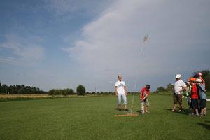 Ferientag - Raketenstart