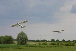 Schleppstart - Cessna und LS2