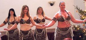 Weihnachtsfeier der casa diva-Tanzgruppen 2012