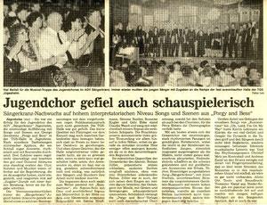 26.05.1992 - Konzert