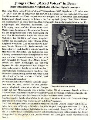 25.-28.05.1995 - IDOCO Bern