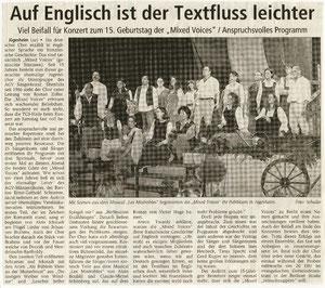 03.11.2001 - Konzert