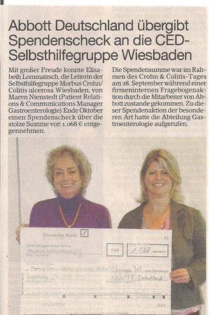 Erbenheimer Anzeiger am 8.11.2012