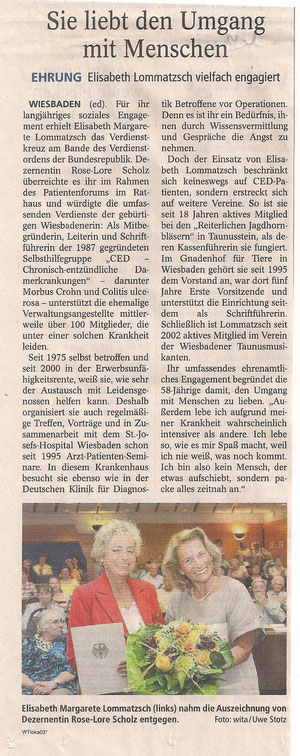 Wiesbadener Tagblatt, 19.8.2011