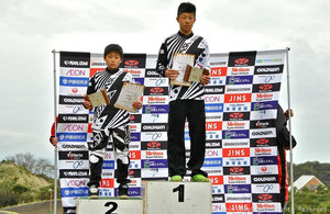 CLUISER 13 OVER CLASS   優勝 古野哲也 2位 古野慧