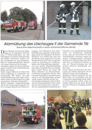 Amtsblatt Titz 17. Oktober 2010
