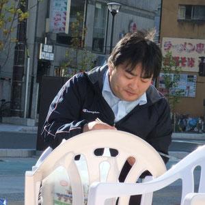 新潟市から高橋先生登場!