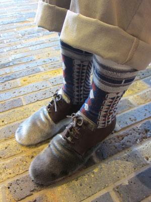 靴¥58800(size23.5cm チョコ)ebagos