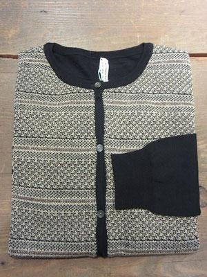 カーディガン¥27300(size2.ベージュ×ブラック)ANTIPAST-Sold out-