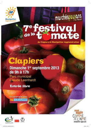 affiche festival tomate