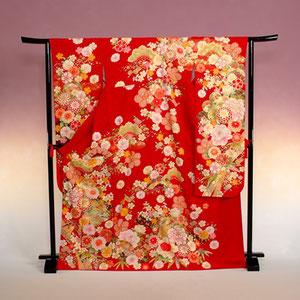 赤いkimono