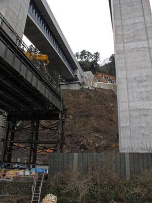 圏央道の高尾山貫通トンネル工事