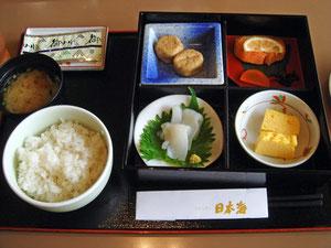和朝食1000円 う〜ん・・・