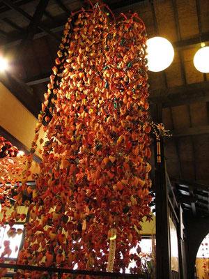稲取の雛の吊るし飾り