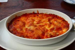 トリッパのチーズグラタン