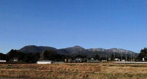 赤城山の峰々