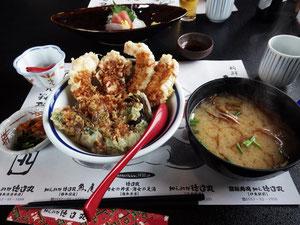 金目鯛の天婦羅定食 おいしかった ¥1800
