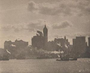 Alfred Stieglitz, Lower Manhattan 1911