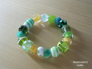 Green & Yellow Bracelet