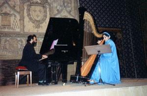 Shimon REUBEN & Nehama REUBEN. DUO REUBEN. Concert REIMS octobre 1993 Palais du Tau