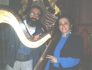Shimon REUBEN & Nehama REUBEN. DUO REUBEN.                    Synagogue de Neuilly  Septembre 1992